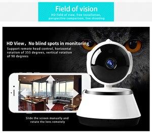 Image 2 - N_eye Indoor camera 8mp 4k HD Smart Home Camera Night Vision 360 Degree Panoramic camera pan tilt Baby Monitor IP camera WIFI