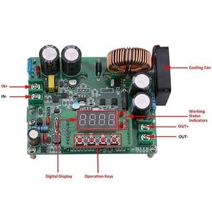 Image 4 - 電源モジュールcc cv dc 10v 75に0 60v 12A 720ワット降圧コンバータ可変電圧レギュレータcnc制御モジュール