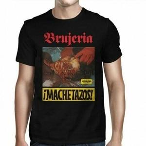 Рубашка Brujeria Machetazos XL 3XL, футболка с металлическим шлифованным сердечником Death, Официальная футболка