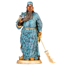 MOZART The Statue Of Guan Gong Enshrines The God The Sword Lifts Guan Gong Guan Yu Guan Er Ye Wu Caishen Lucky Ornaments gong show