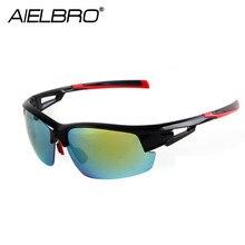 цена на Outdoor Sport Cycling Eyewear UV400 Bicycle Riding Glasses Unisex Windproof Cycling Sunglasses Light Rainproof Bicycle Goggles