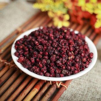 Hierbas orgánicas salvajes y secas 2019 Schisandra Chinensis Wu Wei Zi, té de hierbas con cinco sabores, té de hierbas wuweizi bueno para el cuidado de la salud