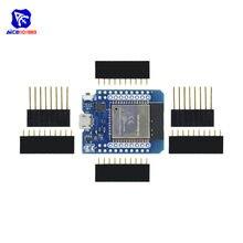 Diymore WeMos D1 мини ESP8266 ESP32 ESP-WROOM-32 WI-FI Bluetooth модуль CP2104 макетная плата с булавки для Arduino DIY Kit