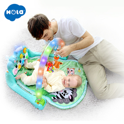 HOLA 1102 Baby Multifunctionele Play Tapijt Ontwikkelen Kruipen kinderen Pianomuziek Mat Zuigeling Fitness Tapijt Rack Leren Speelgoed