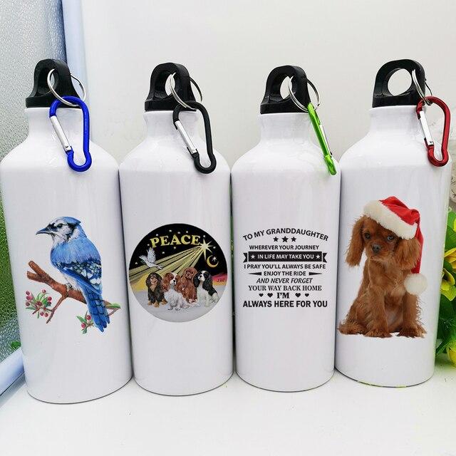 Фото пользовательские металлические бутылки diy спортивные для воды цена