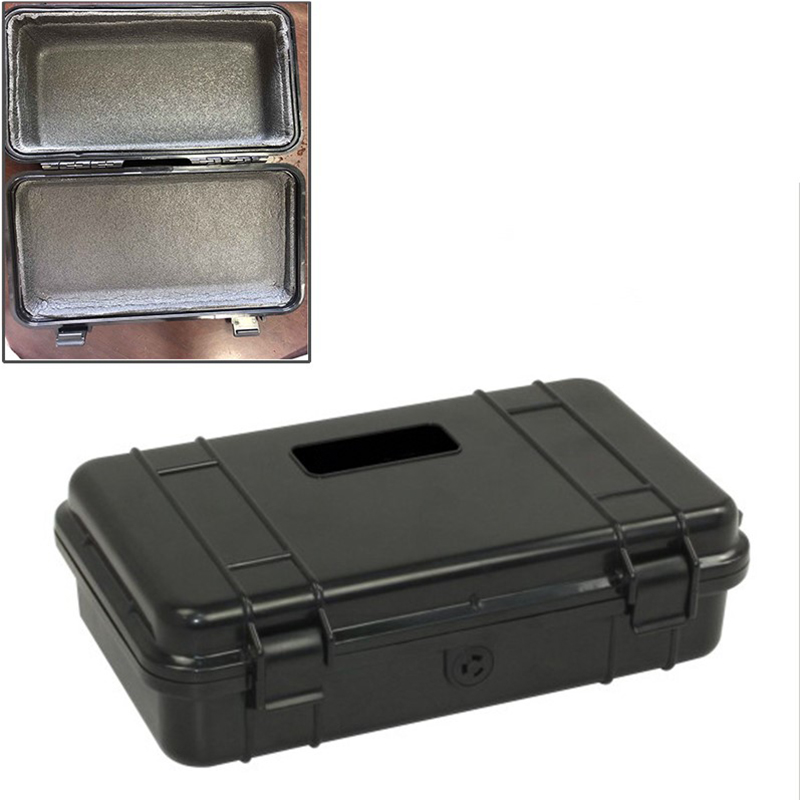 240x148x68mm Waterproof Plastic Tool Box Shockproof Airtight Container Storage Box Resistant Fall Safety Case Outdoor Suitcase