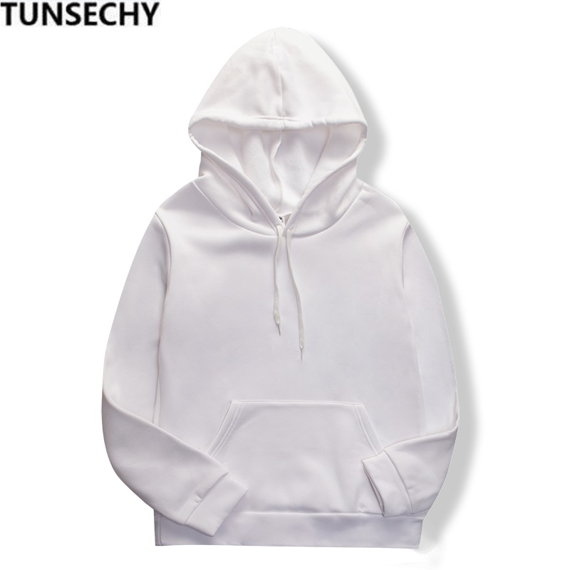 2020 new men's fashion long-sleeved white sports hoodie fashion men's and women's casual comfort sweatshirts