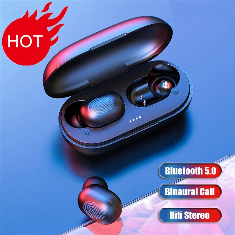 A6x tws 5.0 toque sem fio do fone de ouvido esporte gaming bluetooth fones para iphone xiaomi com caixa carregamento pk redmi airdots