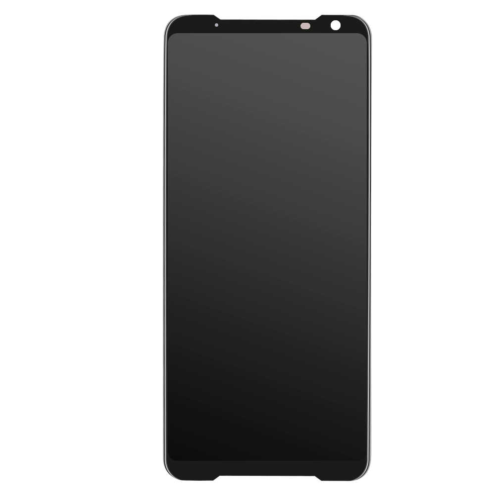 """AMOLED LCD สำหรับ 6.59 """"ASUS ROG โทรศัพท์ 2 Phone2 PhoneⅡ ZS660KL AMOLED LCD + TOUCH Digitizer ASSEMBLY Repair"""