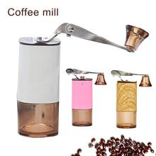 Coffee Machine Stainless Steel Portable Powder Coffee Grinder Ceramic Core-grinding Household Manual Grinding Coffee Beans portable manual coffee maker with coffee bean grinder all in one machine stainless steel coffee machine cafetiere cafetera