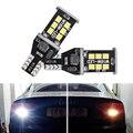 2 шт., Автомобильные светодиодные лампы Canbus T15 W16W 2835SMD для Audi A5 B8 FL / B8.5 (2015)