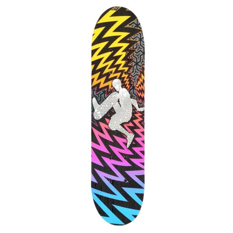 Double Kick Deck Concave Skateboards Longboard Skate Boards For Youths Beginners Skateboard Four-Wheel Double Snubby Maple Skate