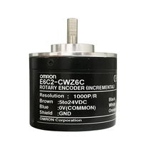 OMRON E6C2-CWZ6C photoelectric rotary incremental encoder 1000P/R 1024P/R 2000P/R 600P/R 360P/R e6b2 cwz6c 2500 p r incremental rotary encoder npn out put