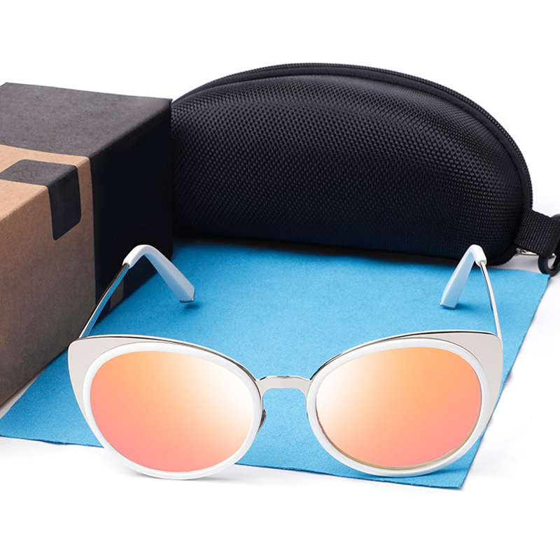 BRAND DESIGN Cat Eye Polarized Sunglasses Women Sun Glasses Female Ladies Oculos Feminino UV400