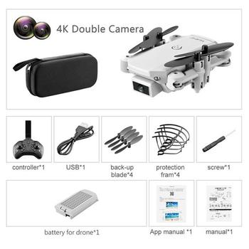 ZITY S66 FPV Mini Drone With Camera HD RC Foldable Drone 4K Professional Wifi Double Camera Drones Quadcopter RC Drone Mini Toys 10