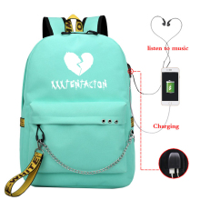 Casual Backpack Lady USB Charging Bag, Girl, Boy Travel Backpack, Laptop Outdoor