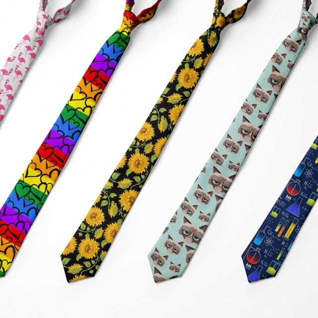 Модный мужской галстук 8 см деловой стиль 1