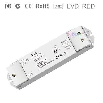 V1-L Single Color LED Controller DC12V-24V 1CH*15A dimming Push Dim dimmer for single color 5050 3528 SMD led strip light v1 l dc12v 24v 1ch 15a constant voltage led dimming controller push dim dimmer for single color 5050 3528 smd led strip light