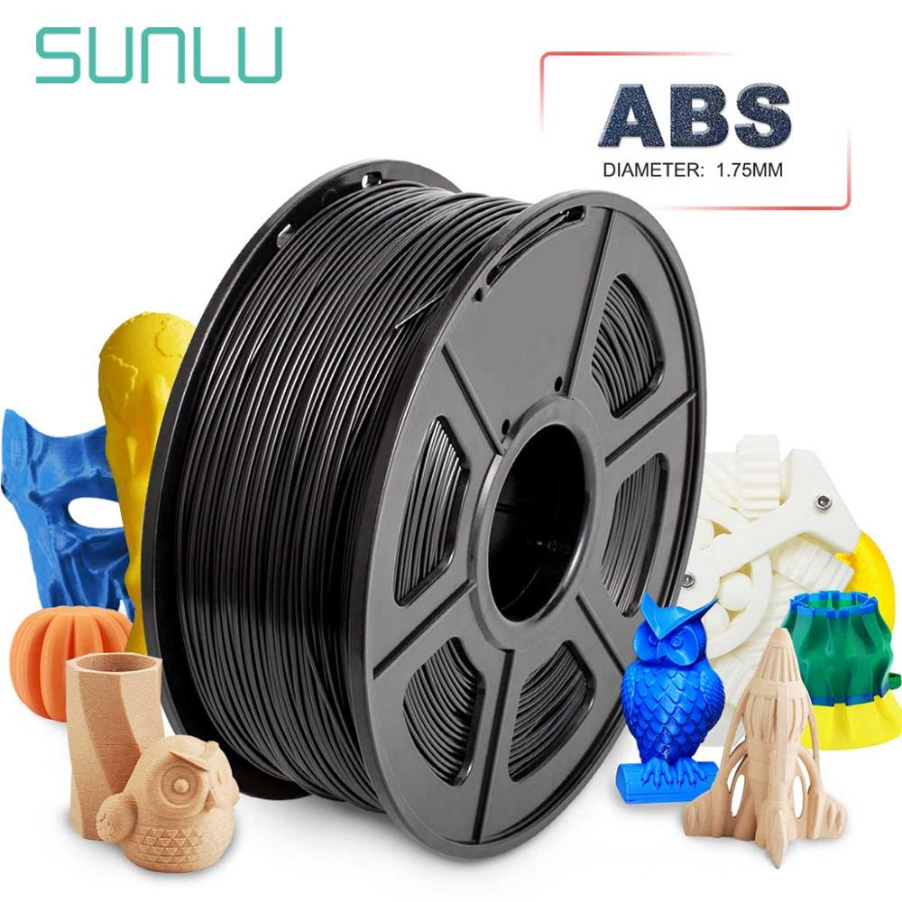 ABS 3D Filament For 3D Printer 100% No Bubble Material Pen Refill ABS 1.75/3.0mm 1KG Spool Sublimation Blanks Black White Grey|3D Printing Materials| |  - title=