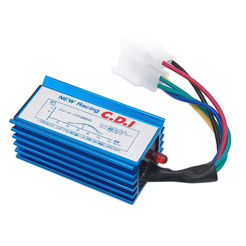 6 Pin Racing CDI Unit AC Aluminium untuk Honda CG125cc 150cc 200cc 250cc ATV Dirt Bike Dropshipping