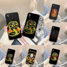 Snake Cobra Kai TV Phone Case For Samsung S note S10E 6 7 8 9 10 20 plus edge lite Cover Fundas Coque