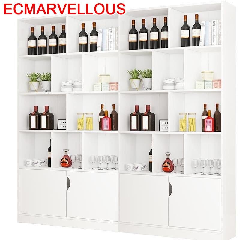 Sala Cristaleira Dolabi Adega Vinho Table Living Room Kast Cocina Meuble Display Shelf Commercial Bar Furniture Wine Cabinet