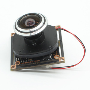"Image 1 - HD 1080P AHD 1/2. 9 ""Sony IMX323 + NVP2441 Starlight נמוך תאורת CCTV לוח מצלמה מודול PCB + 1.7mm fisheye עדשה"