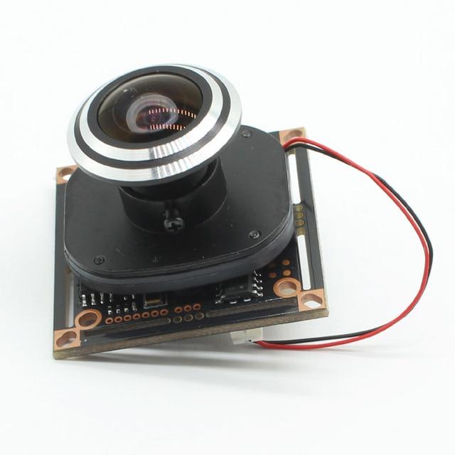 "HD 1080P AHD 1/2. 9 ""Sony IMX323 + NVP2441 Starlight נמוך תאורת CCTV לוח מצלמה מודול PCB + 1.7mm fisheye עדשה"