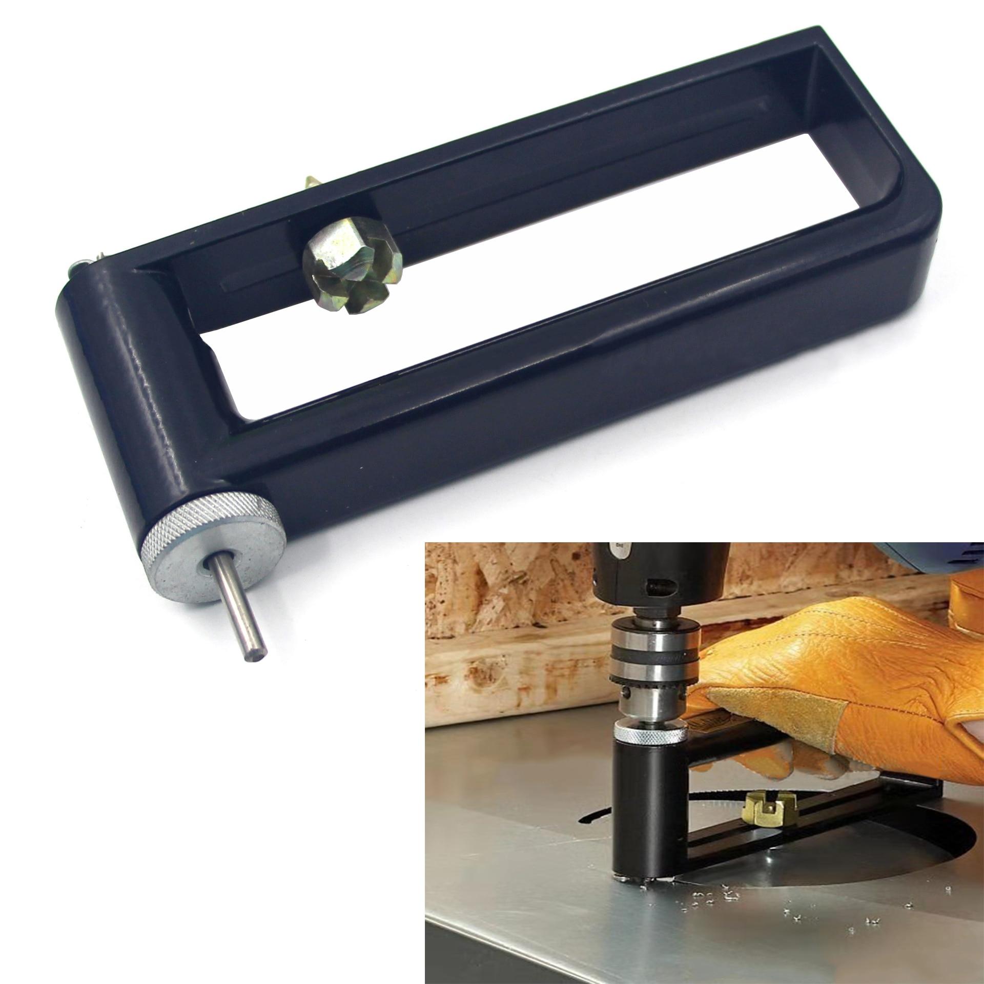 Adjustable Metal Sheet Hole Opener Iron Sheet Hole Opener Milling Circle Milling Groove Circle Cutting Jig