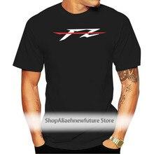 2017 nouveau Pur Coton Manches Courtes Hip Hop Mode O-cou T-Shirt Fz 1 T-Shirt Pour Les Fans Motos Chemise Fz1 Fazer T-Shirt