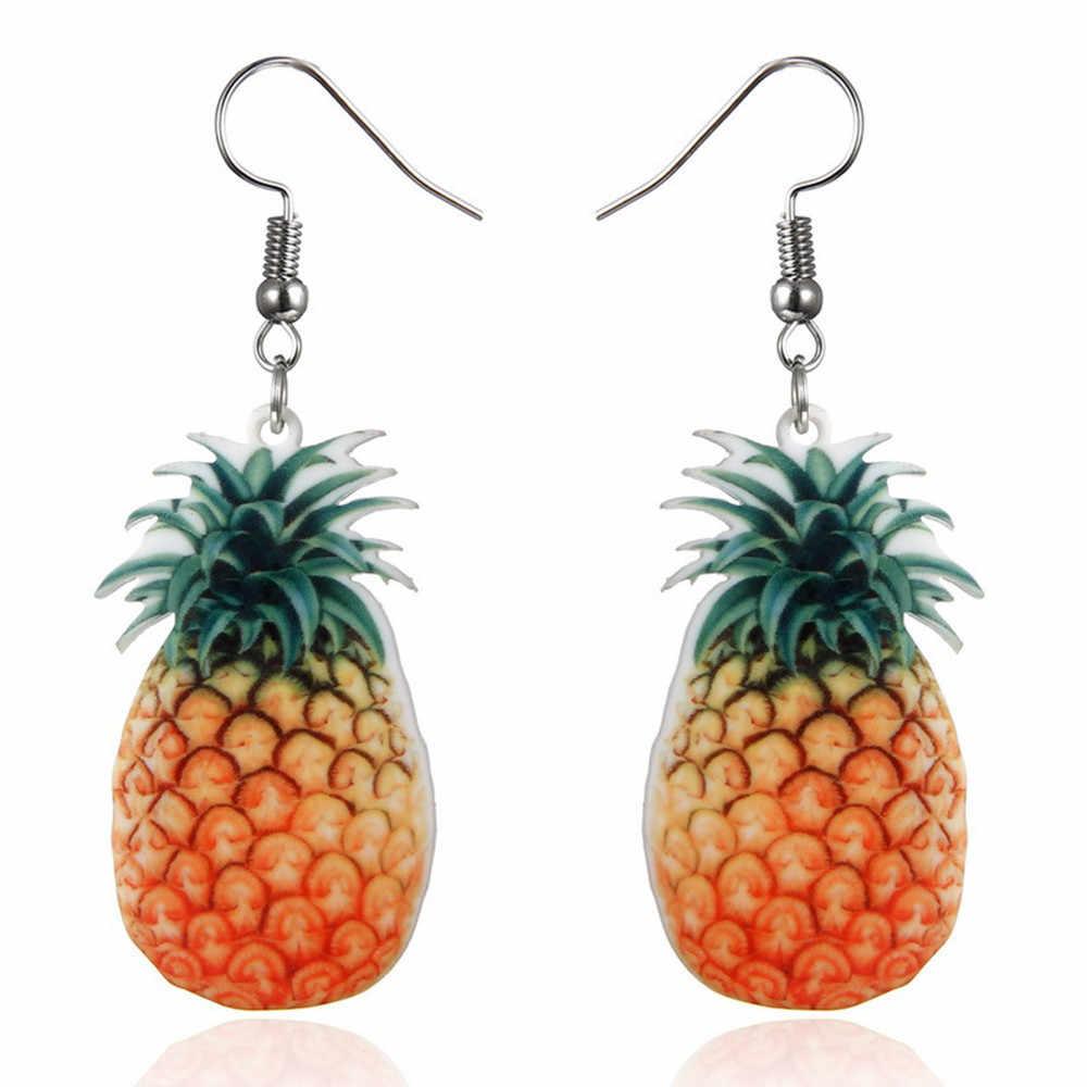 Temperamento creativo pequeños pendientes de fruta fresca tendencia de moda dulces y encantadores pendientes calientes regalo salvaje fiesta boda joyería 924