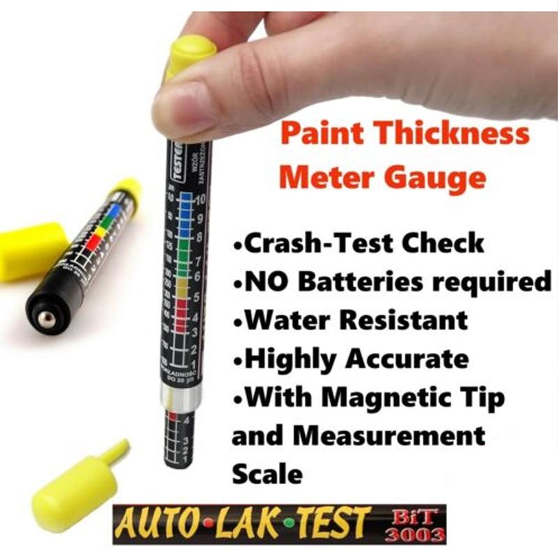 UTOOL Paint Thickness Meter Gauge BIT 3003 CRASH-TEST CHECK 1pc