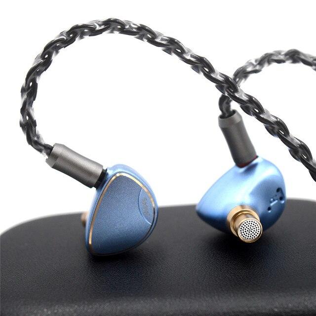 BQEYZ Spring 1 Earphone Piezoelectric Balanced Armature Hybrid Drivers HiFi In Ear Monitor Running Sports Earbuds 6