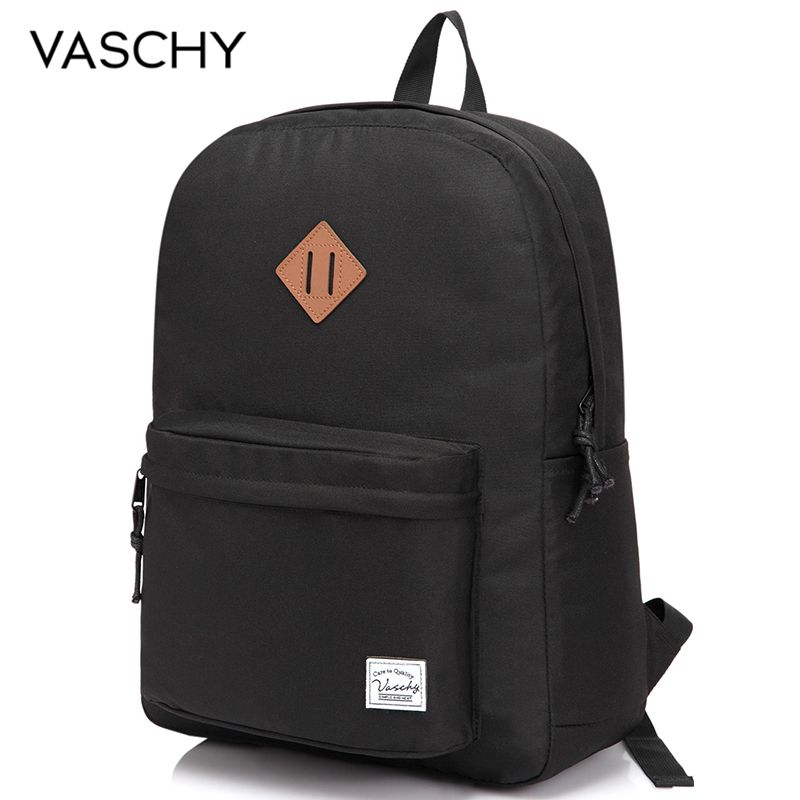 VASCHY Men Women Backpack College High Middle School Bags For Teenager Boy Girls Travel Backpacks Mochila Rucksacks