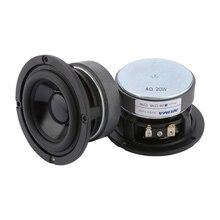 AIYIMA Altavoces Midrange de 3 pulgadas y 20W, controlador de 4Ohm y 8Ohm, de rango medio, de bajos de Audio, para cine en casa, DIY, 2 uds.