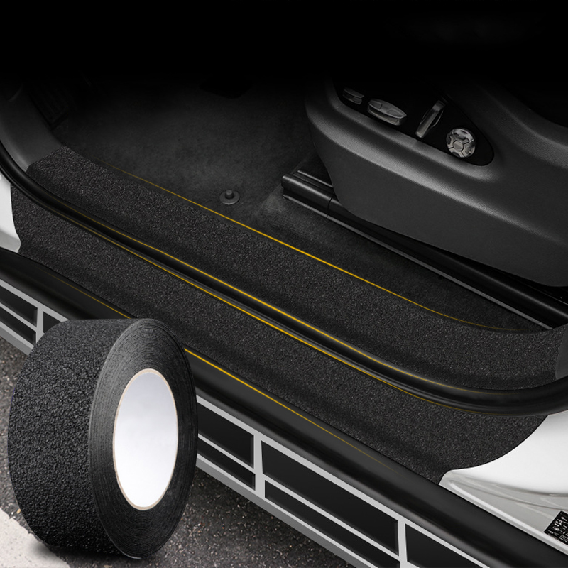 Película protetora para porta de carro 4 cores, peva + acrílico, adesivo de corpo inteiro, vinil acessório do carro