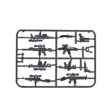 1PCS JX092 Modern Weapon parts Gun Original Block Toy Swat Police Military Weapons City Accessories Compatible Mini Figures