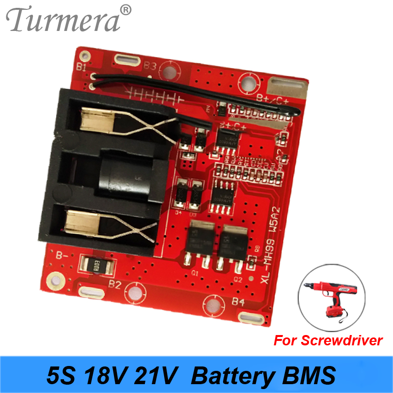 5S 18v 21v 20A Li-ion Lithium Battery BMS 18650 Battery Screwdriver Shura Charger Protection Board Fit For Dewalt Turmera New
