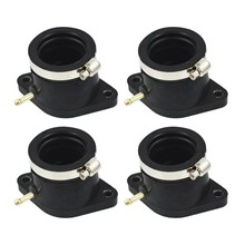 4Pcs Carburetor Intake Manifold Boot Joint Carb Holder For Yamaha Xj650 Xj750 1981-1983(China)