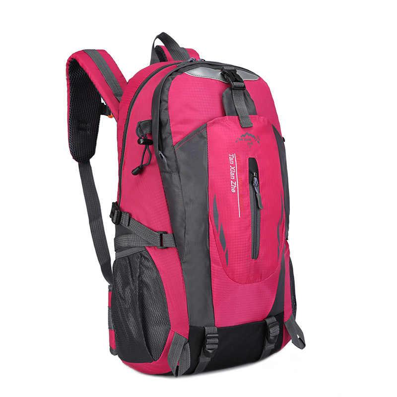 Sırt çantaları erkekler ve kadınlar için 2019 açık tırmanma çantası moda spor sırt çantası büyük kapasiteli çok fonksiyonlu seyahat için sırt çantaları