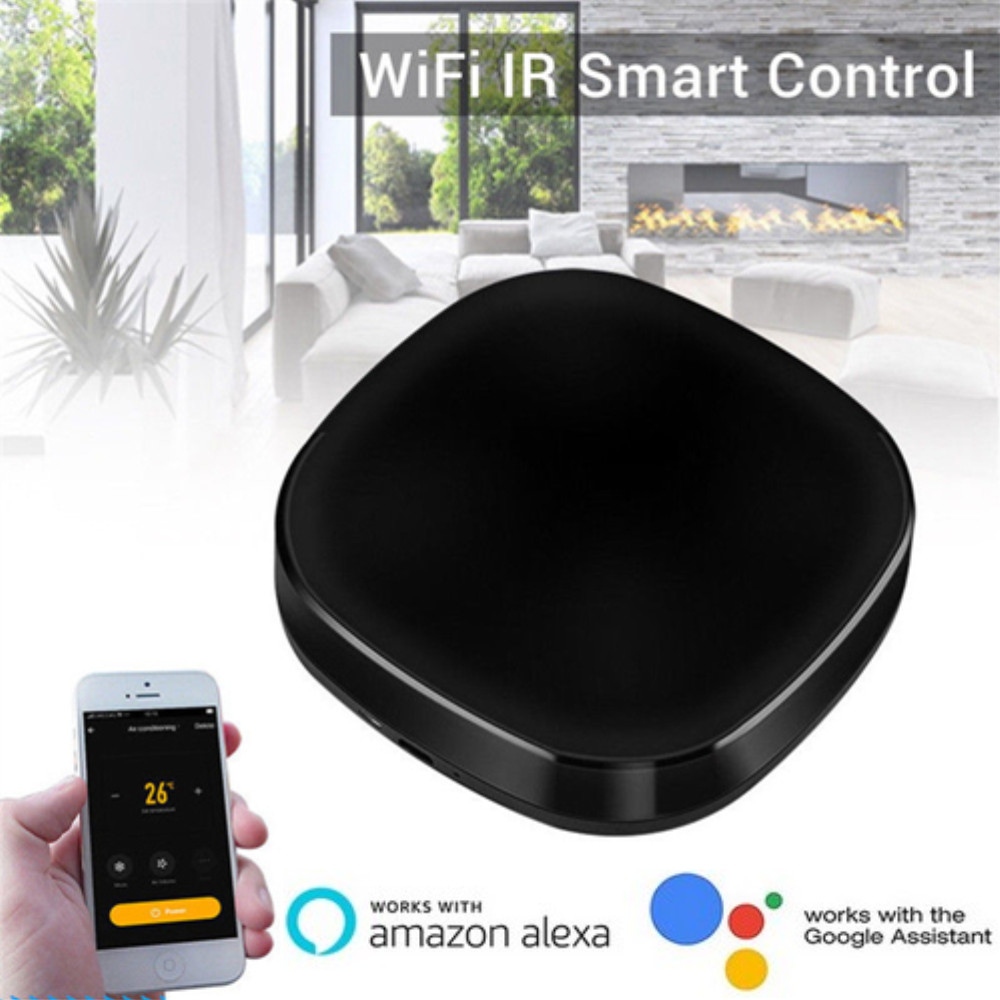 Mini WiFi Smart Remote Controller Universal Intellegent Switch IR Home Automation Voice Control Work With Alexa IFTTT Google
