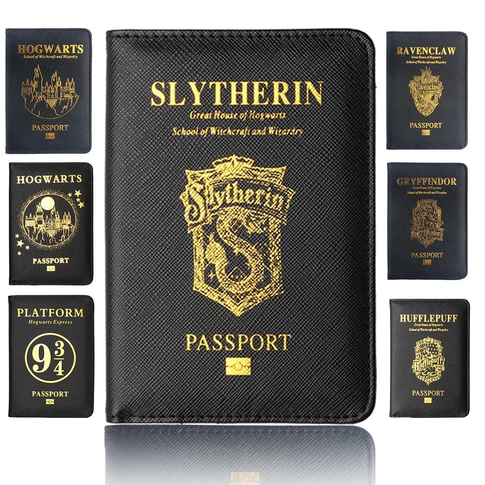 TourSuit Rfid Blocking Leather Passport Cover Holder Hogwarts Gryffindor Ravenclaw With Card Case