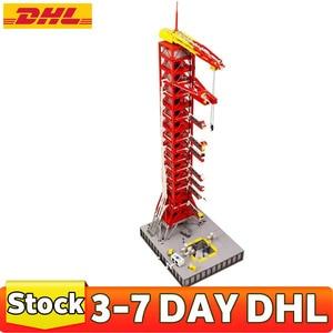 IN STOCK 3561 PCS M10003 MOC J79002 Apollo Saturn V Launch Umbilical Tower Building Blocks Bricks Toys Birthday Gifts Kids
