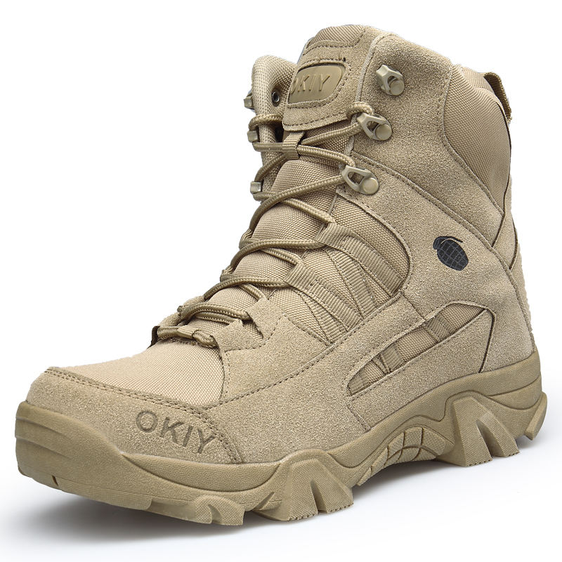 Men's military hiking boots  2