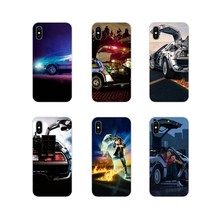 Accessories Phone Shell Covers For Huawei Nova 2 3 2i 3i Y6 Y7 Y9 Prime Pro GR3 GR5 2017 2018 2019 Y5II Y6II Back To The Future(China)