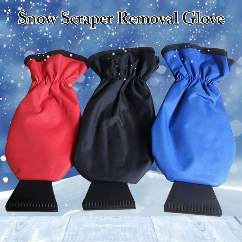 Car Snow Scraper Removal Glove Cleaning Snow Shovel Ice Scraper Tool For Auto Window Outdoor Snow Shovel Glove