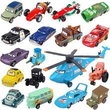 Modèle de voiture en alliage de métal fondu 1:55, Disney Pixar Cars 2 & 3, Lightning McQueen, Jackson Storm, Doc Hudson, Mater, cadeau d'anniversaire pour enfants, jouets