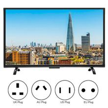 32 дюйма ТВ большие изогнутые Экран Смарт 3000R кривизны ТВ 4K HDR сетевая версия 110V смарт ТВ
