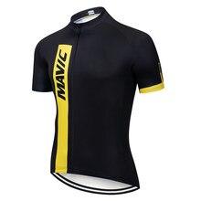 Mavic camisa de ciclismo 2021 nova pro equipe bicicleta mtb downhill camisas males' manga curta bicicleta wear verão premium camisa