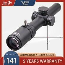 Vector Optics GenII Grimlock 1 6x24 Riflescope SFP Scope BDC Reticle Air Soft Scope Hunting Rifle Scope AR15 CQB Scope 5.56 7.62